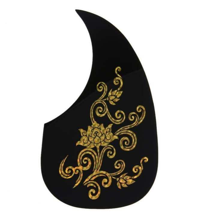 รีวิว Gold Phoenix And Dragon Pattern Acoustic Guitar Pickguard Pick Guard Sticker – intl