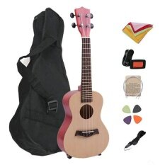 Good 23 Inch Ukulele Set Musical Instrument Learner Beginner Student Teaching Tools Wooden - Intl.