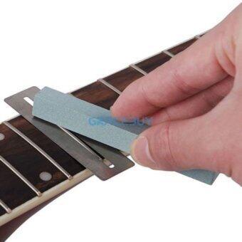 ราคาดีที่สุด Guitar Bass Fretboard Fret Protector 2pcs+ Fretwire Sanding neck polish luthier - intl ล่าสุด