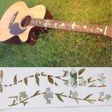 ราคา Guitar Bass Inlay Sticker Decal Fretboard Marker Elagant Flowers And Grass Style ใหม่ ถูก