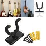 ซื้อ Guitar Hanger Hook Holder Wall Mount Stand Rack Bracket Display Fits Most Guitar Bass Accessories Easy To Install Screws Intl Unbranded Generic
