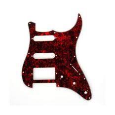 ขาย Bolehdeals กีต้าร์ Pickguard 11 หลุมสีแดงทำจากกระดองเต่าสำหรับNstrat Fender Stratocaster Generic ใน จีน