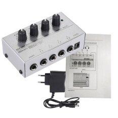 ราคา Ha400 อุลขนาด 4 แชนแนลลำโพงขยายเสียงมินิหูโทรศัพท์ด้วยอะแดปเตอร์noutdoorfree ใหม่ ถูก