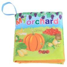 Hang - Qiao ที่มีสีสันการศึกษาช่วงต้นของทารกหนังสือผ้า Orchard ภาพการเรียนรู้.