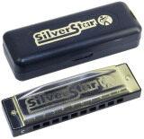 โปรโมชั่น Hohner M50410 Silver Star Key Of A Diatonic Harmonica ถูก
