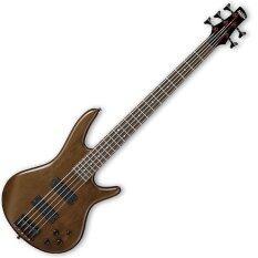 ขาย ซื้อ Ibanez เบส 5 สาย Gsr205B 5 String Electric Bass Brown Walnut