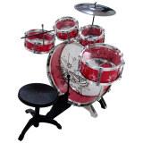 ราคา Drum กลองชุด 5 ชิ้น สำหรับเด็ก พร้อมเก้าอี้ Red เป็นต้นฉบับ