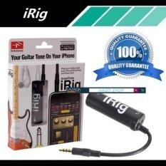 โปรโมชั่น Irig Amplitube Effect Guitarอุปกรณ์เพิ่มเอฟเฟคเสียงต่อกีต้าร์ กับIphone Black