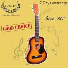ขาย ซื้อ Justin Guitar กีต้าร์โปร่ง เล็ก 30 นิ้ว ซันเบิร์ด สินค้ารับประกัน 100 กรุงเทพมหานคร