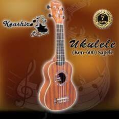 ราคา Kenshiro Ukulele อูคูเลเล่ รุ่น Ken 600 Sapele ขนาด 21 นิ้ว เป็นต้นฉบับ