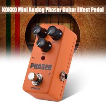 ราคาดีที่สุด KOKKO Mini Analog Phaser Electric Guitar Phase Effect Pedal ล่าสุด