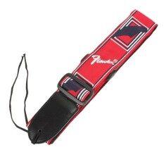 ราคา Korya สายสะพายกีตาร์ Fender สีแดง จำนวน 1 ชิ้น ใหม่ล่าสุด