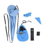 ซื้อ Lade 10 In 1 Saxophone Cleaning Care Kit Belt Thumb Rest Cushion Reed Case Mouthpiece Brush Mini Screwdriver Cleaning Cloth ออนไลน์ ถูก