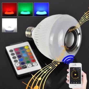 Light bulb music หลอดไฟลำโพง หลอดไฟเปลี่ยนสี ไฟเปลี่ยนสี ไฟกระพริบ ไฟแต่ง