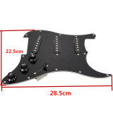ราคา Loaded Prewired Pickguard Pearl For Fender Strat Guitar Replacement ออนไลน์