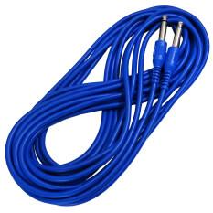 Marina สายแจ็คกีตาร์ไฟฟ้า หัวแจ็คตรง ยาว 6 เมตร 20 ฟุต รุ่น C111 1 สีน้ำเงิน ถูก