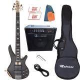 ส่วนลด สินค้า Matrixss เบสไฟฟ้า 5 สาย Active Bass Pick Up 5 Strings รุ่น Mb 3 Set
