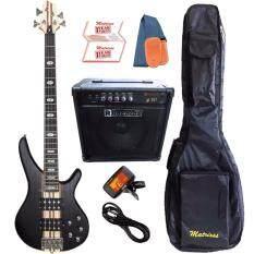 ขาย ซื้อ Matrixss เบสไฟฟ้า 4 สาย Active Bass Pick Up 4 Strings รุ่น Mb 6Bk Set