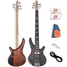 ซื้อ Matrixss เบสไฟฟ้า 5 สาย Active Bass Pick Up 5 Strings รุ่น Mb 3 ใหม่