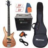 ราคา Matrixss เบสไฟฟ้า Electric Bass รุ่น Ib 4Mhg Set ใหม่