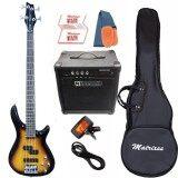 ซื้อ Matrixss เบสไฟฟ้า Electric Bass รุ่น Ib4Sb Set ถูก ใน นนทบุรี