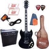 ขาย Matrixss กีตาร์ไฟฟ้า Electric Guitar รุ่น Sg 30Bk Set Matrixss เป็นต้นฉบับ