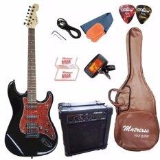 ขาย Matrixss กีตาร์ไฟฟ้า Electric Guitar Stratocaster รุ่น 230Bk Set นนทบุรี ถูก