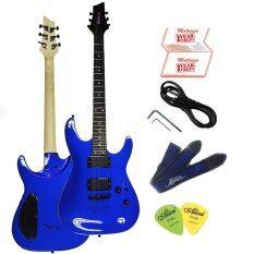 ซื้อ Matrixss กีตาร์ไฟฟ้า Electric Guitar รุ่น Seib500Bl สายสะพายกีตาร์ สายแจ็ค ปิ๊ก 2 ใบรับประกัน Matrixss ออนไลน์