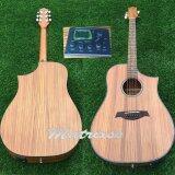 Matrixss กีตาร์โปร่งไฟฟ้า Acoustic Guitar 41 รุ่น Mes 3Dze กระเป๋า ถูก