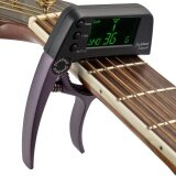ส่วนลด สินค้า Meideal Tcapo20 Quick Change Key Capo Tuner Alloy Material For Acoustic Electric Guitar Bass Chromatic Intl