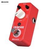 ขาย Mooer Cruncher High Gain Distortion Guitar Effect Pedal True Bypass Full Metal Shell Intl ใหม่