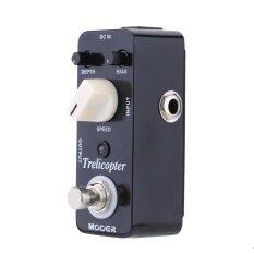 ขาย Mooer Trelicopter Micro Mini Optical Tremolo Effect Pedal For Electric Guitar True Bypass Intl ออนไลน์