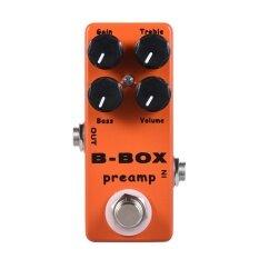 ซื้อ Mosky B Box Electric Guitar Preamp Overdrive Effect Pedal Full Metal Shell True Bypass Intl Unbranded Generic ออนไลน์
