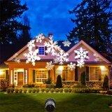 ขาย เคลื่อนย้าย Snow Laser โปรเจคเตอร์โคมไฟภูมิทัศน์กลางแจ้งเกล็ดหิมะ Led เวทีแสงพรรคกันน้ำ Christmas Light ออนไลน์