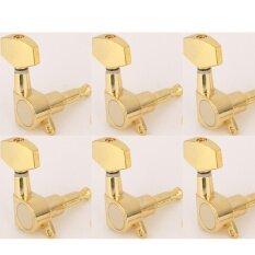 ขาย Musiclily 6 In Line Big Button Guitar Sealed Tuner Tuning Key Pegs Machine Head Set Right Hand Gold Intl Musiclily เป็นต้นฉบับ