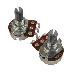 ราคา Musiclily Guitar Small Size Pots A500K Potentiometers For Guitar Bass Parts Chrome Pack Of 4 Intl ใหม่