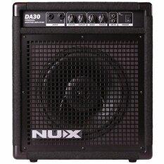 ส่วนลด Nux แอมป์กลองชุดไฟฟ้า 30W รุ่น Da 30 Electric Drum Amp Nux ไทย