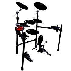 ราคา ราคาถูกที่สุด Nux Digital Drum Kit กลองไฟฟ้า รุ่น Dm 3 Black แถมฟรี ไม้กลอง La