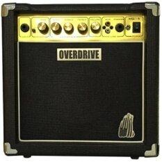 ขาย Overdrive แอมป์กีตาร์ 15 W รุ่น Mg 15 สีดำ Overdrive