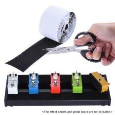 โปรโมชั่น Pedalboard Pedal Mounting Tape Fastener Length 2M Width 5Cm For Guitar Pedal Board 2 Pack 1 Hook 1 Loop Intl