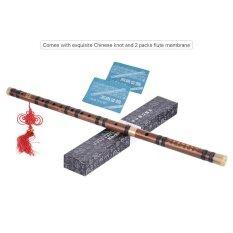 Pluggable Bitter ขลุ่ยไม้ไผ่ Dizi แบบดั้งเดิมทำด้วยมือจีน Musical Woodwind Instrument คีย์การ D ระดับการศึกษาระดับมืออาชีพ - นานาชาติ.