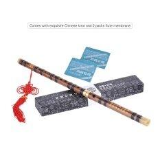 Pluggable Bitter ขลุ่ยไม้ไผ่ Dizi แบบดั้งเดิม Handmade จีน Musical เครื่องดนตรีแบบเป่าคีย์การศึกษาระดับ G ระดับมืออาชีพ - Intl.