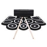 ซื้อ Portable Electronic Roll Up Drum Pad Set 9 Silicon Pads Built In Speakers With Drumsticks Foot Pedals Usb 3 5Mm Audio Cable Intl Unbranded Generic เป็นต้นฉบับ
