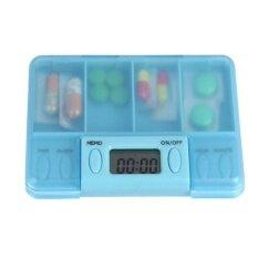 Portable Intelligent Electronic Timing Pill Reminder Alarm Medicine Storage Box - Intl.