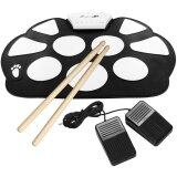 ซื้อ Portable Mini Usb Interface Kids Silicon Foldable Electronic Roll Up Digital Drum Pad Kit With Drum Stick Foot Switch Pedal Intl ใหม่ล่าสุด