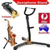 ขาย Pratical Tubular Construction Foldable Saxophone Stand Alto Sax Rack Holder Intl เป็นต้นฉบับ