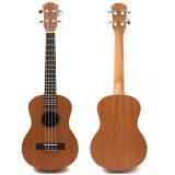 ซื้อ Professional 26 Inch Tenor Ukulele Uke Hawaii Guitar Sapele 18 Fret ถูก แองโกลา