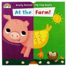 Really Decent Flip Flap Books - At the Farm  (หนังสือภาษาอังกฤษ)