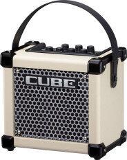 ราคา Roland แอมป์กีต้าร์ รุ่น Micro Cube Gx White Roland เป็นต้นฉบับ