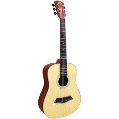 ราคา Romeo Guitar กีต้าร์โปร่ง 34 นิ้ว Top Spruce รุ่น Rs1 ที่สุด